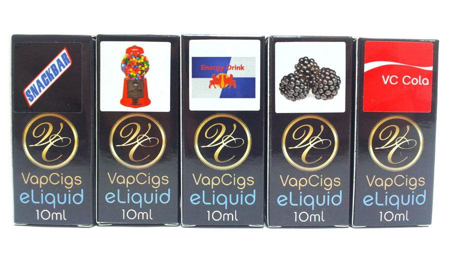 VapCigs eLiquid Flavors